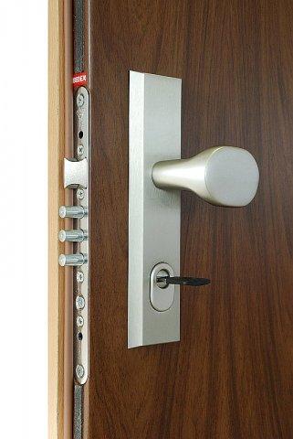 Bezpečnostní dveře set klucka