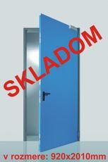 Oceľové exteriérové dvere Prog-T 920mm
