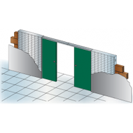 Stavebné púzdro Unitrex 2050 mm Doppio