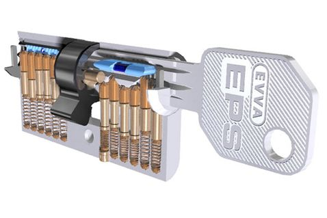 Bezpečnostná vložka EVVA EPS-M