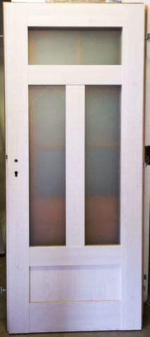 Dvere Afro biele vzorka