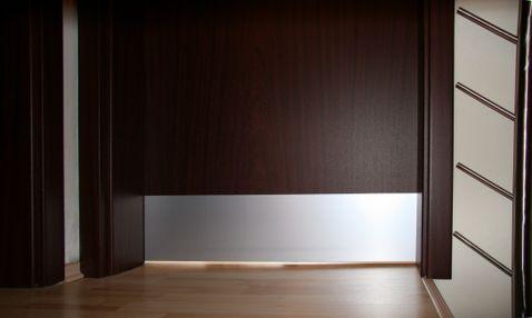 Hliníkový eloxovaný MP - okopový plech na dvere-F1