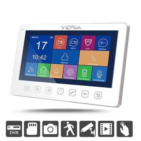 LCD monitor videotelefónu VERIA 7076B biely