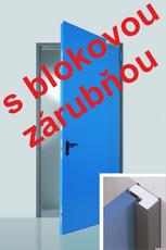 Oceľové exteriérové dvere Prog-T + bloková zárubňa