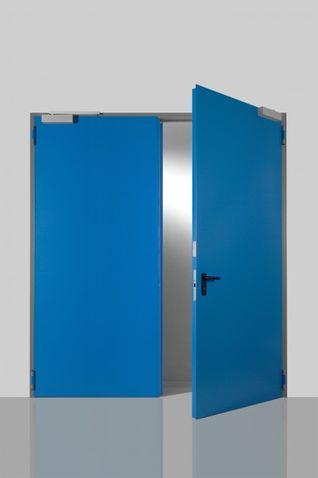 Oceľové exteriérové dvere Prog-T dvojkrídlo