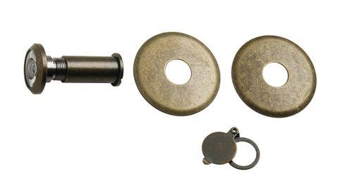 podložka 2 ks 48mm + kr tm.hnedé