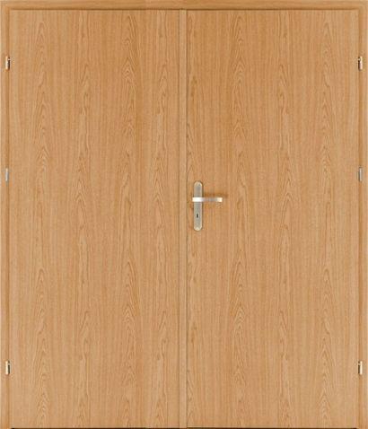 Protipožiarne dvere EI30 EW30 D3 dvojkrídlové