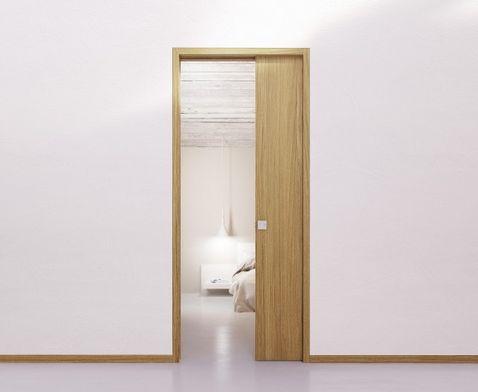 Zárubňa a dverný panel SHODO do puzdra jednokr., dýha ORECH TANGANYIKA