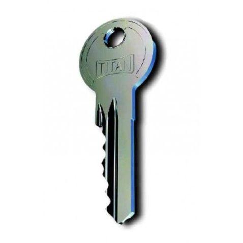 Zlúčenie vložiek Titan K1 na spoločný kľúč